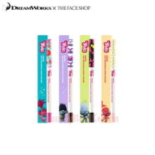 THE FACE SHOP Ink Gel Slim Mechanical Pencil Eyeliner 0.1g [Trolls Edition]
